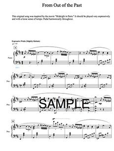 SHEET MUSIC | Jacob Koller Official Website